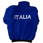 Italia Bomber Jacket - Blue