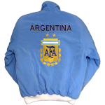 Argentina Bomber Jacket - Light Blue