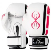 Sting ArmaPLUS Boxing Glove - White/Pink