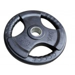 Bodyworx Olympic Rubber Weight Plate 10kg