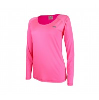 Running Bare Dawn to Dusk Long Sleeve Top - Pink