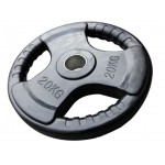Bodyworx Olympic Rubber Weight Plate 20kg