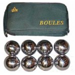 Chrome Bocce Set