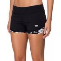 Running Bare Mid Rise Relay Shorts - Black