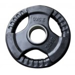 Bodyworx Olympic Rubber Weight Plate 2.5kg