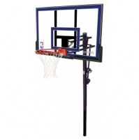 "Spalding 50"" Acrylic In Ground Basketball System"