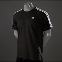 Adidas Crew Essentials 3-Stripe Tee