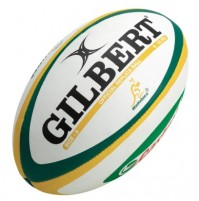 Gilbert Wallabies Replica 10' Rugby Ball
