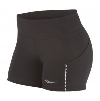 Saucony Bullet Shorts - Black