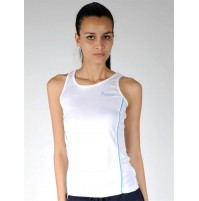 Diadora Performance Singlet - White/Blue