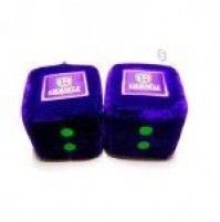 AFL Fremantle Dockers Fluffy Dice