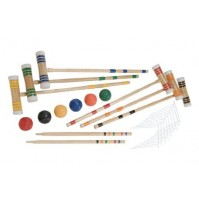 Halex 6 Player Croquet Set