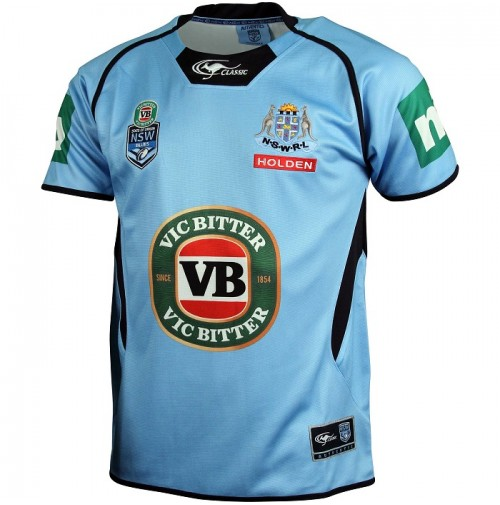 NSW Blues 2015 Men's Premium Jersey