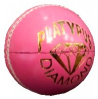 Platypus Diamond Cricket Ball Pink