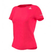 Adidas Run Tee - Fluro Red