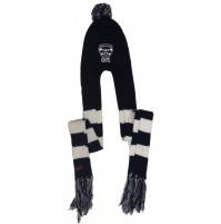 AFL Geelong Hooded Beanie with Logo