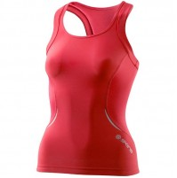 Skins Women's A400 Racer Back Top - Coral