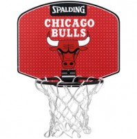 Spalding NBA Team Mini Basketball Board - Bulls