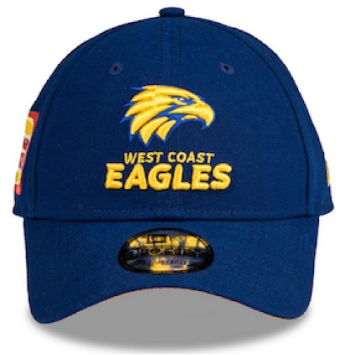 AFL New Era West Coast Eagles 9Forty Media Cap