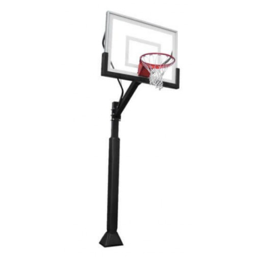 "Boomering 'The Joey' 48"" Glass In Ground Basketball System"