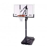 "Lifetime 54"" Polycarb Power Lift Basketball System"