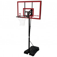 "Spalding 44"" Game Time Polycarbonate Basketball System"
