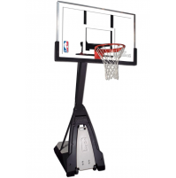 "Spalding 60"" Beast Glass Basketball System"