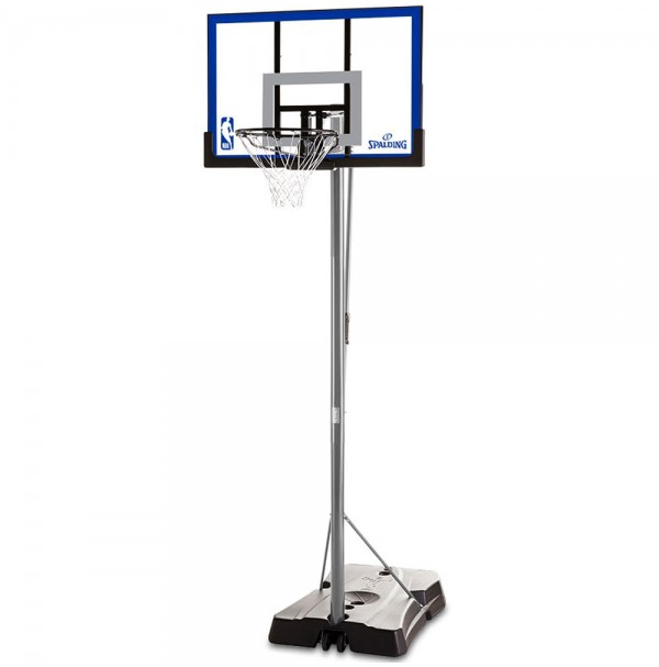 "Spalding 48"" Game Time Polycarbonate Basketball System"