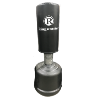 Ringmaster Free Standing Punch Bag - Black
