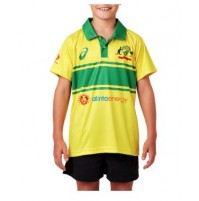 Asics Cricket AUS 18 Replica Retro ODI Shirt - Youth