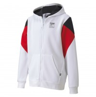 Puma Rebel Block Full Zip Youth Hoodie