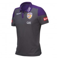 Perth Glory 18/19 Men's Media Polo
