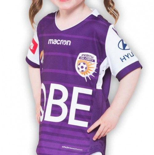 Perth Glory 17/18 Home Jersey Jnr