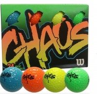 Wilson Chaos Bright Golf Balls 24 Pack