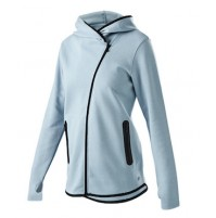 Russell Athletic Asymmetrical Zip Hoodie