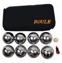 Alliance Chromed Metal Boule Set