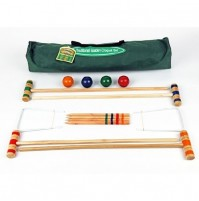 Traditional Garden Croquet Set