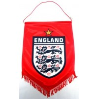 England Supporter Penant - Red