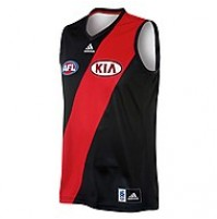 AFL Essendon Bombers Men's 2013 Home Guernsey 2013
