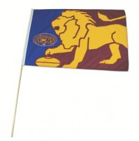 AFL Brisbane Lions Flag - Large