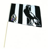 AFL Magpies Flag - Large