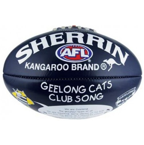 AFL Geelong Cats Club Song Football