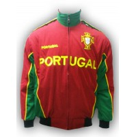 Portugal National Soccer Jacket Red