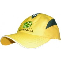 Socceroos FFA Triple Mesh Panel Cap - Gold