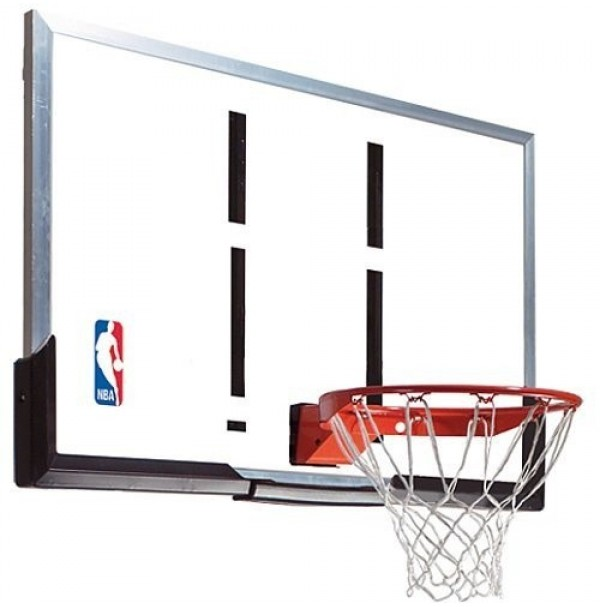 "Spalding 54"" Acrylic Backboard & Ring"