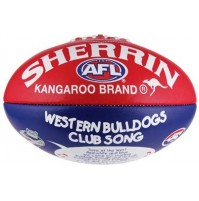 Western Bulldogs Club Song Football Ball