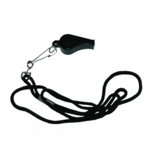 Super K Plastic Whistle with Lanyard
