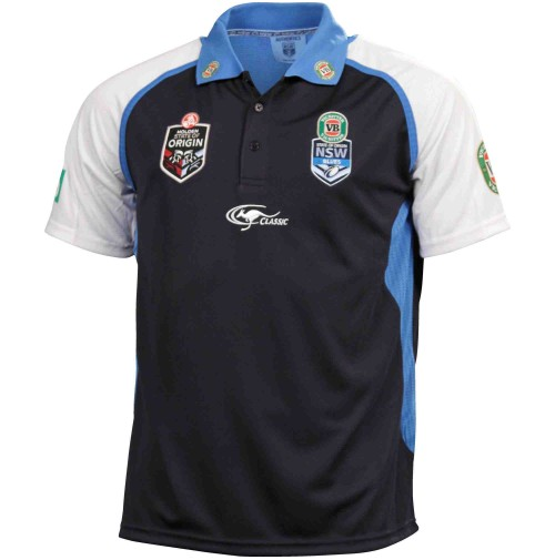 NSW Blues 2014 Men's Replica Training Polo