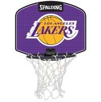 Spalding NBA Team Mini Basketball Board - Lakers