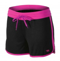 Running Bare Rock It Kick It Shorts - Black/Pink